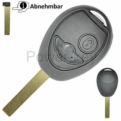 Mini Cooper R50 R53 One 2 Tasten Funk Schlüssel Ersatz Gehäuse repair (Mini Cooper Ersatzschlüssel)