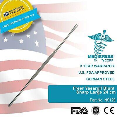 Freer Yasargil Blunt Sharp Large 24 Cm Surgical Instruments