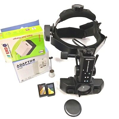 Wireless Rechargeable Indirect Ophthalmoscope With 4 Filter Accessories