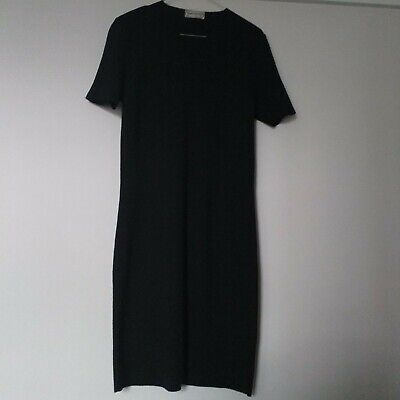 Burberrys knitted dress,black,size 44