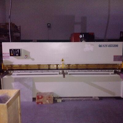 Shear Machine Hydraulic L126 3200mm For 0.314 8mm Thickness Metal