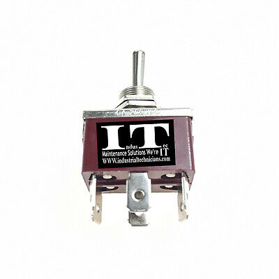 Industec Heavy Duty Toggle - Switch Dpdt 125v 10a 12v Maintained