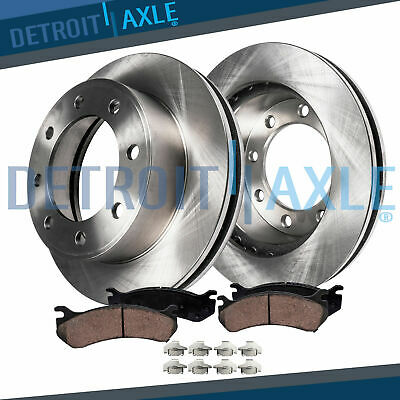 Front Brake Rotors + Ceramic Pads for 2011 - 2016 Silverado Sierra 2500 3500 HD Hd Front Left Brake