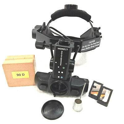 Indirect Ophthalmoscope With 90 D Lens Accessories