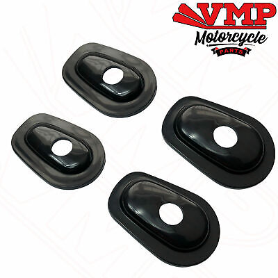 Kawasaki Indicator Adapters Covers Spacers Plates for Front / Rear Pair