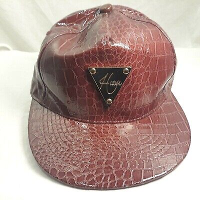 Hater Snapback Maroon Hat Hater