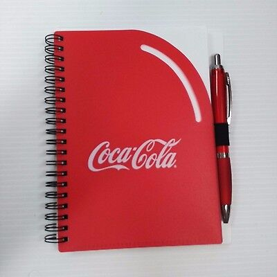 Coca-Cola Spiral Notebook with Pen - FREE SHIPPING for sale  Shipping to United Kingdom