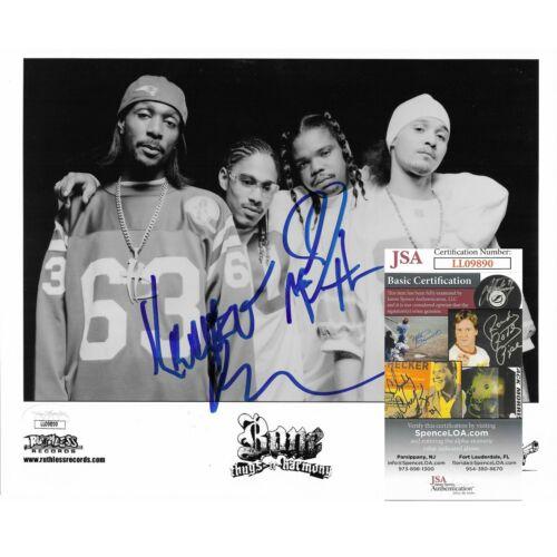 Bone Thugs N Harmony Signed 8x10 Photo with Wish Krayzie BTNH JSA Autograph Cert