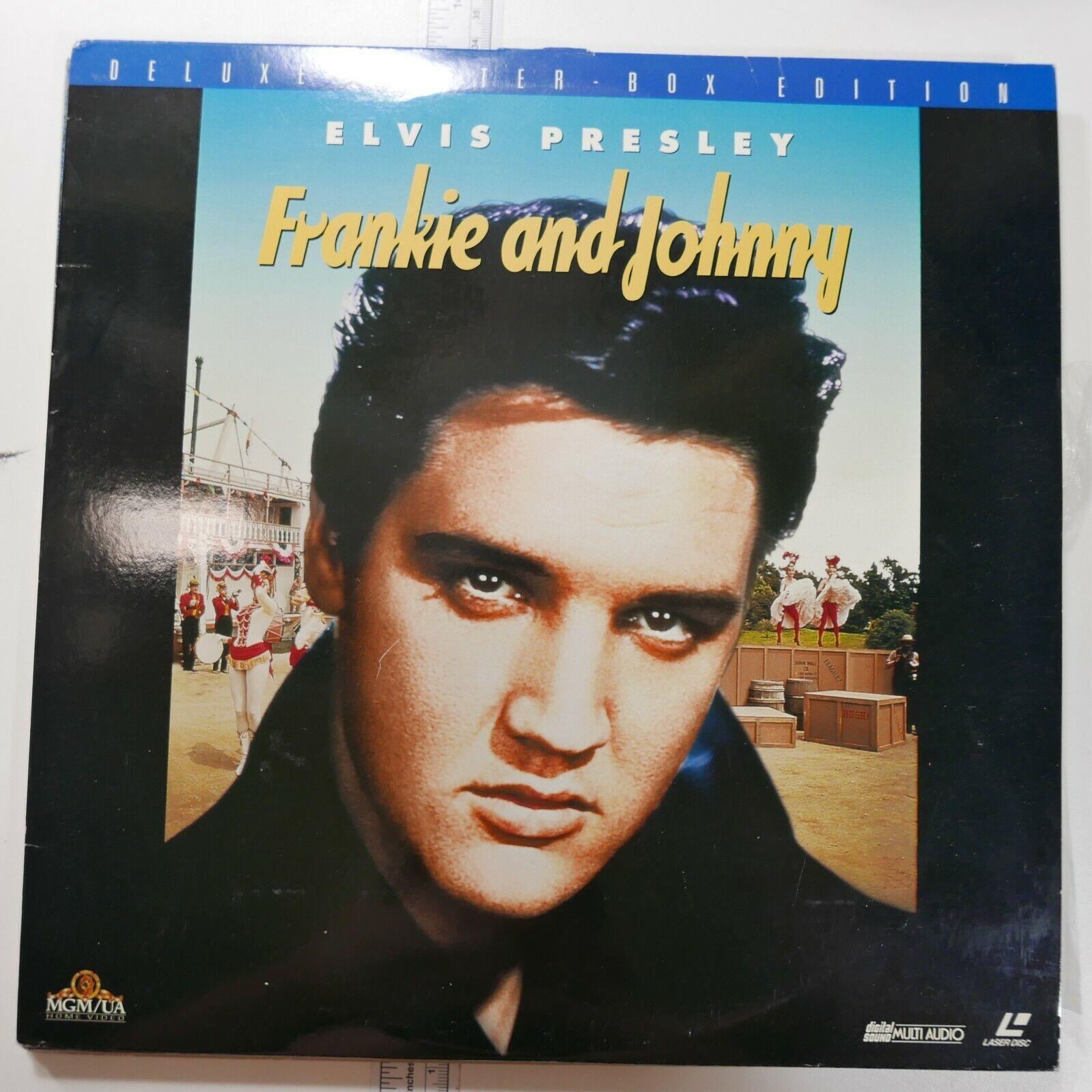 ELVIS PRESLEY - FRANKIE AND JOHNNY LASERDISC Laser Videodisc Letter Box Edition - $11.11