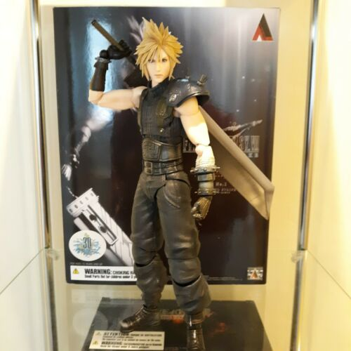 Play Arts Kai remake Ver.1 Cloud Strife. Authentic.