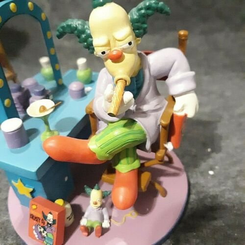 "The SIMPSONS HAMILTON ""HEY HEY KIDS"" SCULPTURE  With Box Clean"