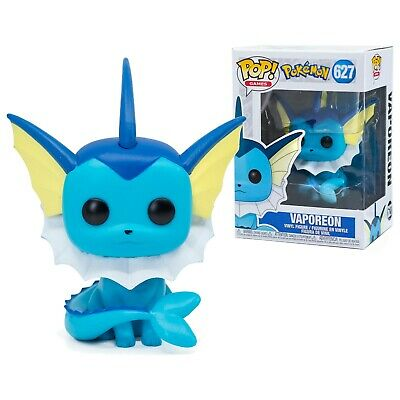 Pokemon Vaporeon Funko Pop #627 Games Vinyl Figure Brand New!