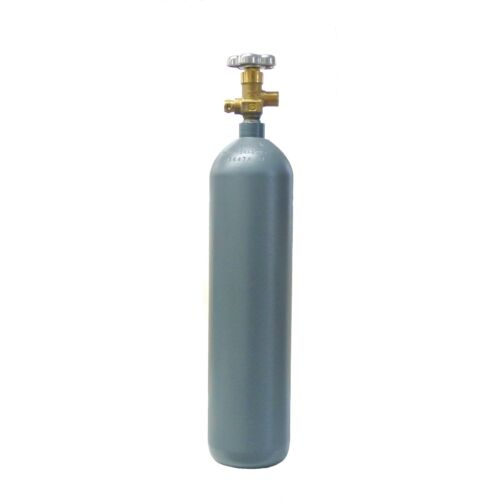 4 lb. Reconditioned Steel CO2 Cylinder CGA320 Valve - Fresh Hydro Test