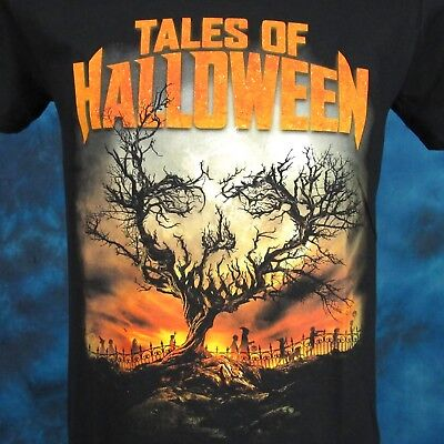 new FRIGHT RAGS TALES OF HALLOWEEN T-Shirt SMALL movie horror terror film thin](Filme Terror Halloween)