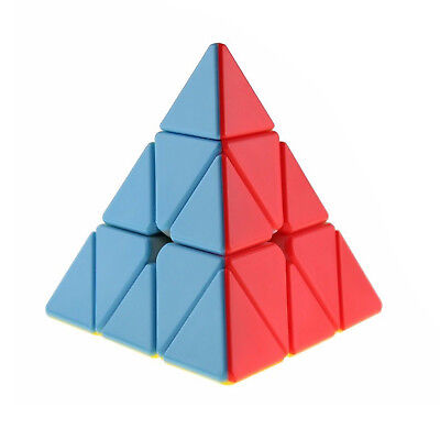 Pyramid Magic Cube Professional Ultra-smooth Speed Cube Rubiks Twist Puzzle Toys