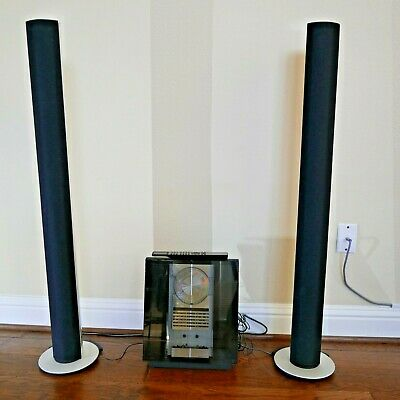 Bang & Olufsen BeoSound 4000 and BeoLab 6000 Active Floorstanding Loudspeakers