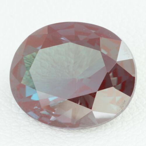 5.1ct Alexandrite (Czochralski Method) Lab Created Loose Stone