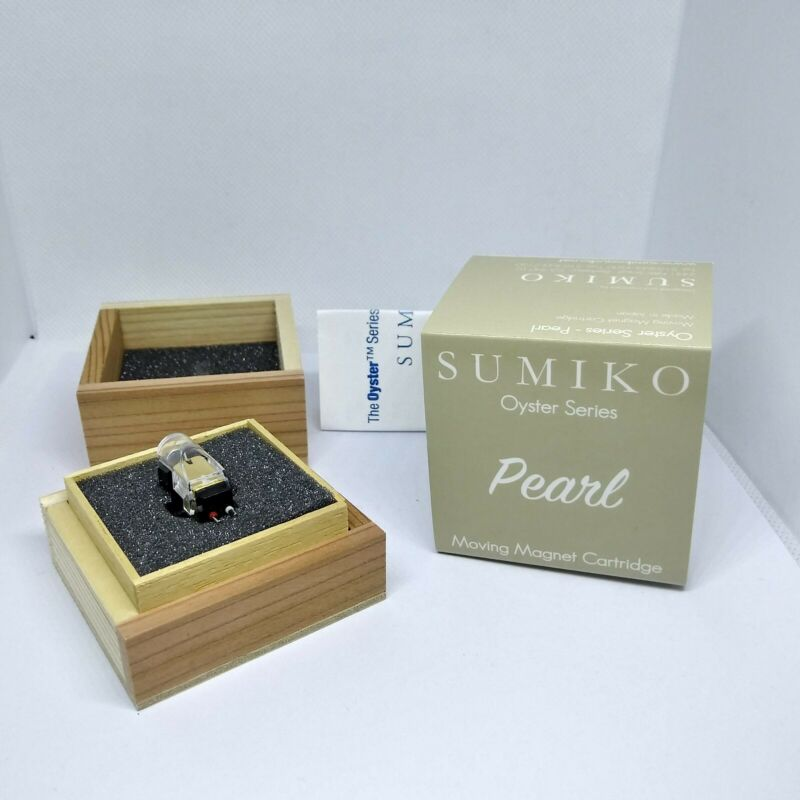 Sumiko Pearl MM Cartridge in Elliptical Stylus, Made in Japan