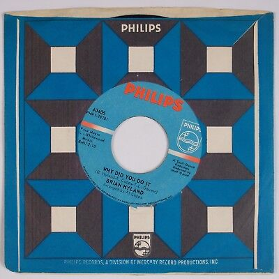 Why Do Pop Rocks Pop (BRIAN HYLAND: Run, Run, Look And See / Why Did You Do It 60s Pop Rock 45)