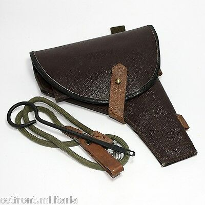Original Soviet ☭ Tokarev TT-33 or M1895 Nagant belt holster ☭ Marked and dated, used for sale  Shipping to United States