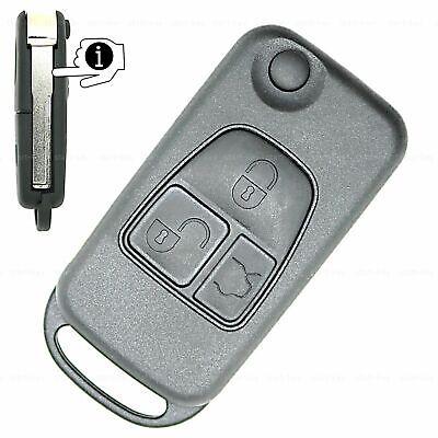 Klapp Schlüssel Ersatz Gehäuse für Mercedes M-Klasse W163 ML 500 270 400 320 350