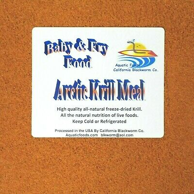 arctic krill meal powder fry and baby