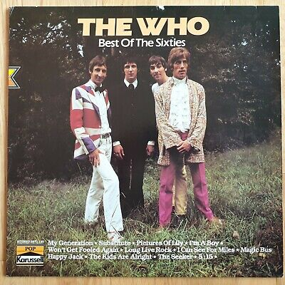 The Who Best Of The Sixties 12 Track Vinyl (Best Albums Of The 1960s)