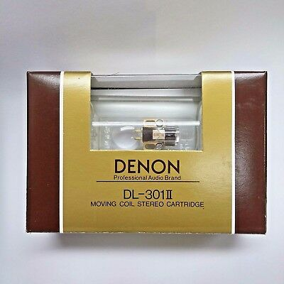 Denon DL-301II 0.4mV Low Output MC cartridge, made in Japan