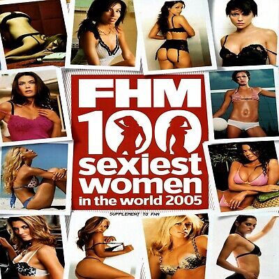 FHM Magazine 100 Sexiest Women In The World 2005 For Him Magazine Lingerie HOT