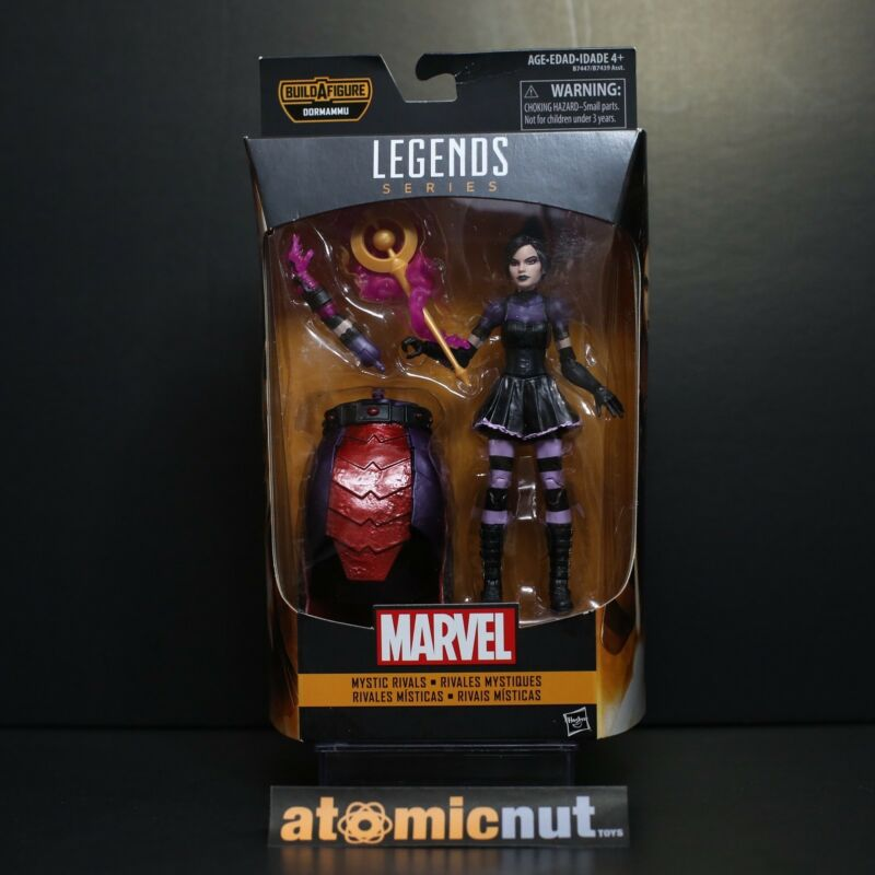 Marvel Legends Dr Strange Mystic Rivals Enchantress Dormammu BAF MISB
