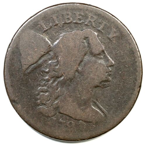 1794 S-51 R-4 Liberty Cap Large Cent Coin 1c