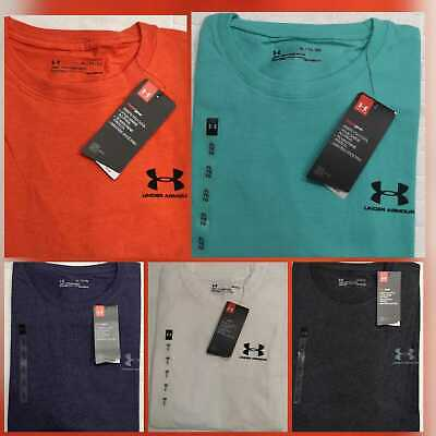 Men's Under Armour Heat Gear Running/Training Gym Sport Short Sleeve T-shirt