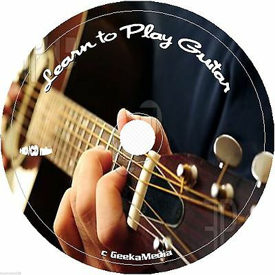 Learn How to Play Guitar 5 Books on Disc master acoustic electric music kids