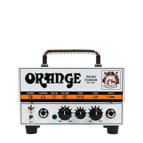 orange micro terror 20 watt rms mt20 hybrid guitar amp head free shipping usa ebay. Black Bedroom Furniture Sets. Home Design Ideas