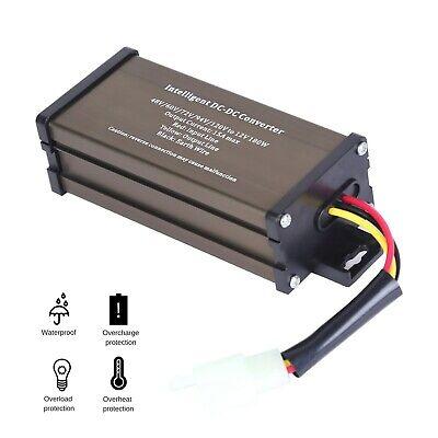 Scooter Led Dc Voltage Converter Regulator Voltage Reducer 60v-120v Volt To 12v