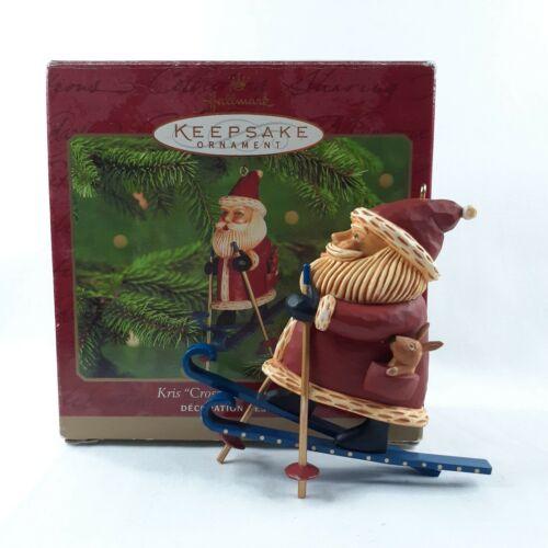 "Hallmark Keepsake ""Kris Cross-Country Kringle"" Ornament 2000 Skier Christmas"