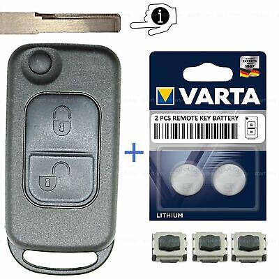 Klapp Schlüssel Ersatz Gehäuse für Mercedes Vito Sprinter Vaneo W170 W168 R170