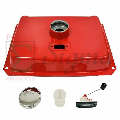 New 4 Gallon Red Fuel Tank For Pulsar Portable Diesel Generator 7000watt Pg7000d