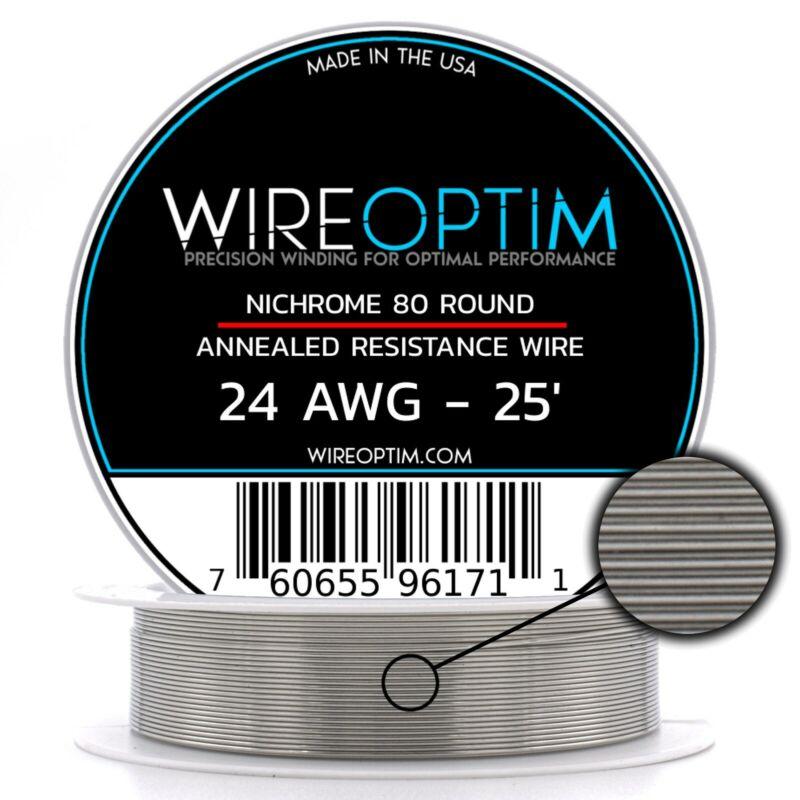24 Gauge AWG Nichrome 80 Wire 25
