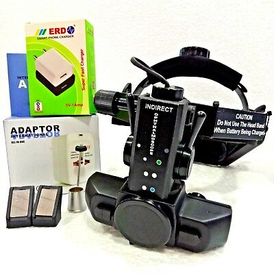 Indirect Ophthalmoscope With 4 Filter Accessories Worldwide Shipping
