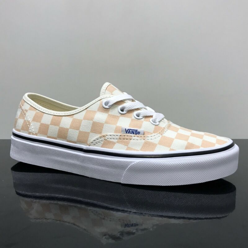 The Checkerboard Authentic combines the original and now iconic Vans low  top style with sturdy canvas uppers 9b0cb2b41