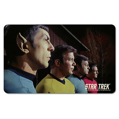e - Star Trek: Spock Kirk McCoy Scotty Frühstücksbrettchen  (Scotty Star Trek)