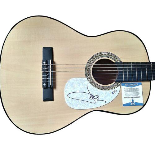 Jake Owen Signed Acoustic Guitar Proof Beckett BAS Cert Country Music Autograph