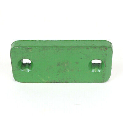 Nos Oem Genuine Vintage Antique John Deere Tractor Part Pad Green Metal E14570