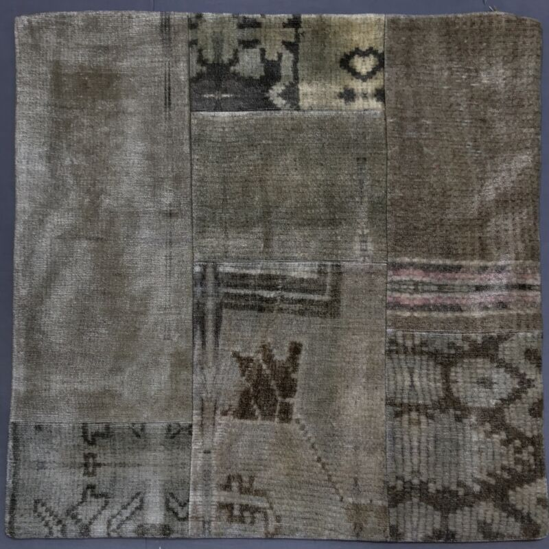 Pottery Barn Zinnia Patchwork Printed 20 Pillow Cover Ebay