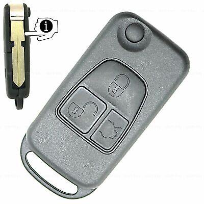 Klapp Schlüssel Ersatz Gehäuse für Mercedes S-Klasse W140 C140 R129 Batterie