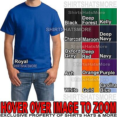 Mens Beefy-T Cotton T-Shirt Hanes S-XL BEST SELLING COLORS New Soft Beefy (Best Selling T Shirts)