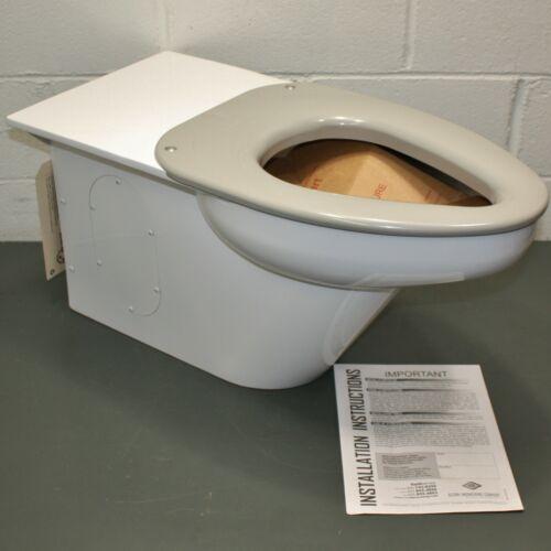 Acorn Bestcare Stainless Steel Penal Toilet WH2142-ADA-W-0024, Floor Mount White