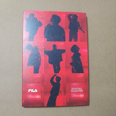 BTS 2020 FILA FALL COLLECTION PHOTOBOOK POSTCARDS