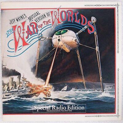 WAR OF THE WORLDS: Jeff Wayne, PROMO Sampler / Highlights WLP Vinyl LP